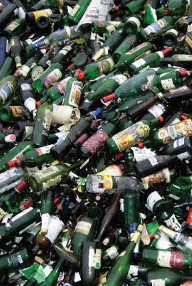 reciclare deseuri din sticla