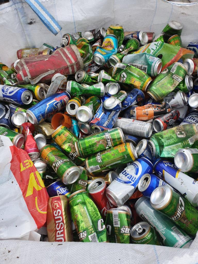 reciclare deseuri ambalaje din aluminiu